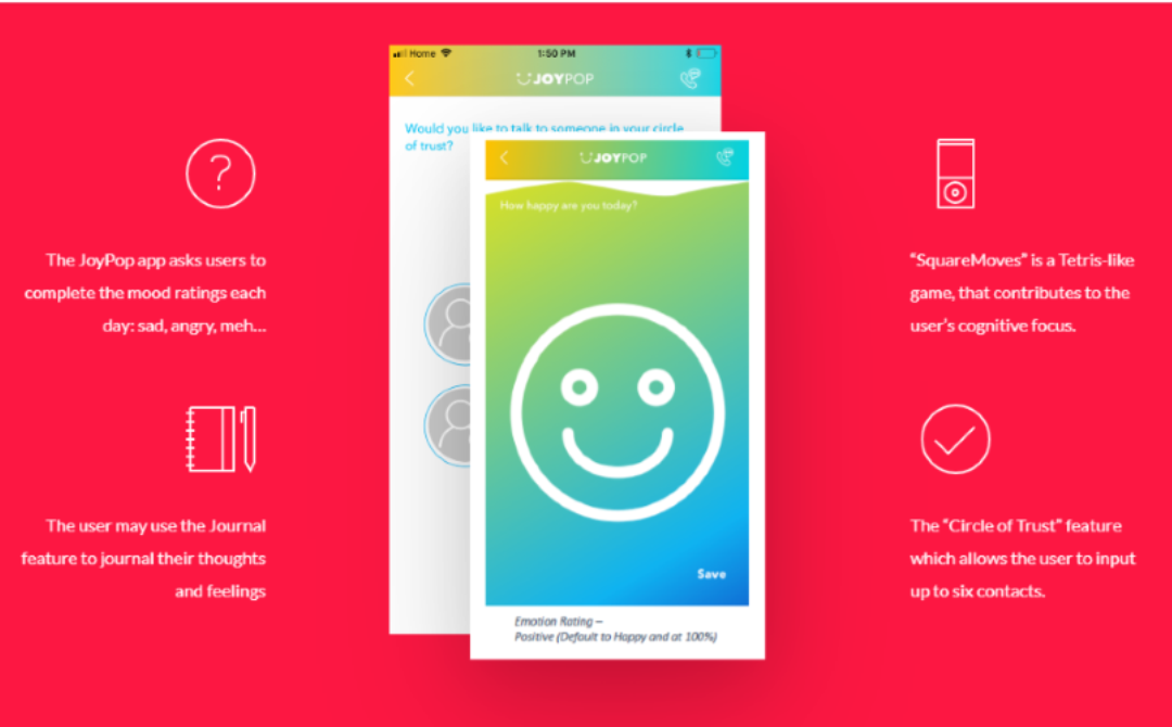 New JoyPop App collaboration promotes positive mental health in youth