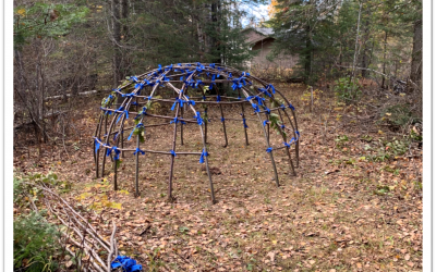 New Sweatlodge at the Family Healing and Wellness Centre